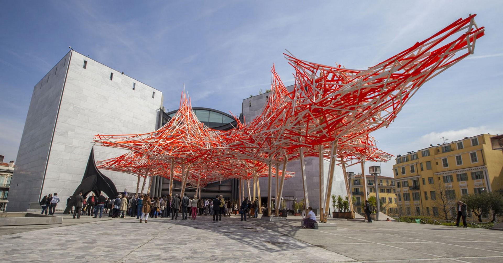Le mus e d 39 art moderne et d 39 art contemporain mamac nice la lezardiere - Musee d art moderne strasbourg ...