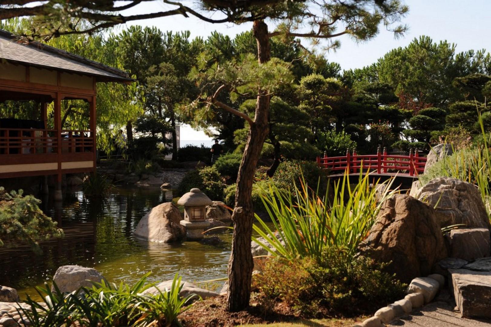 le jardin japonais monaco la lezardiere