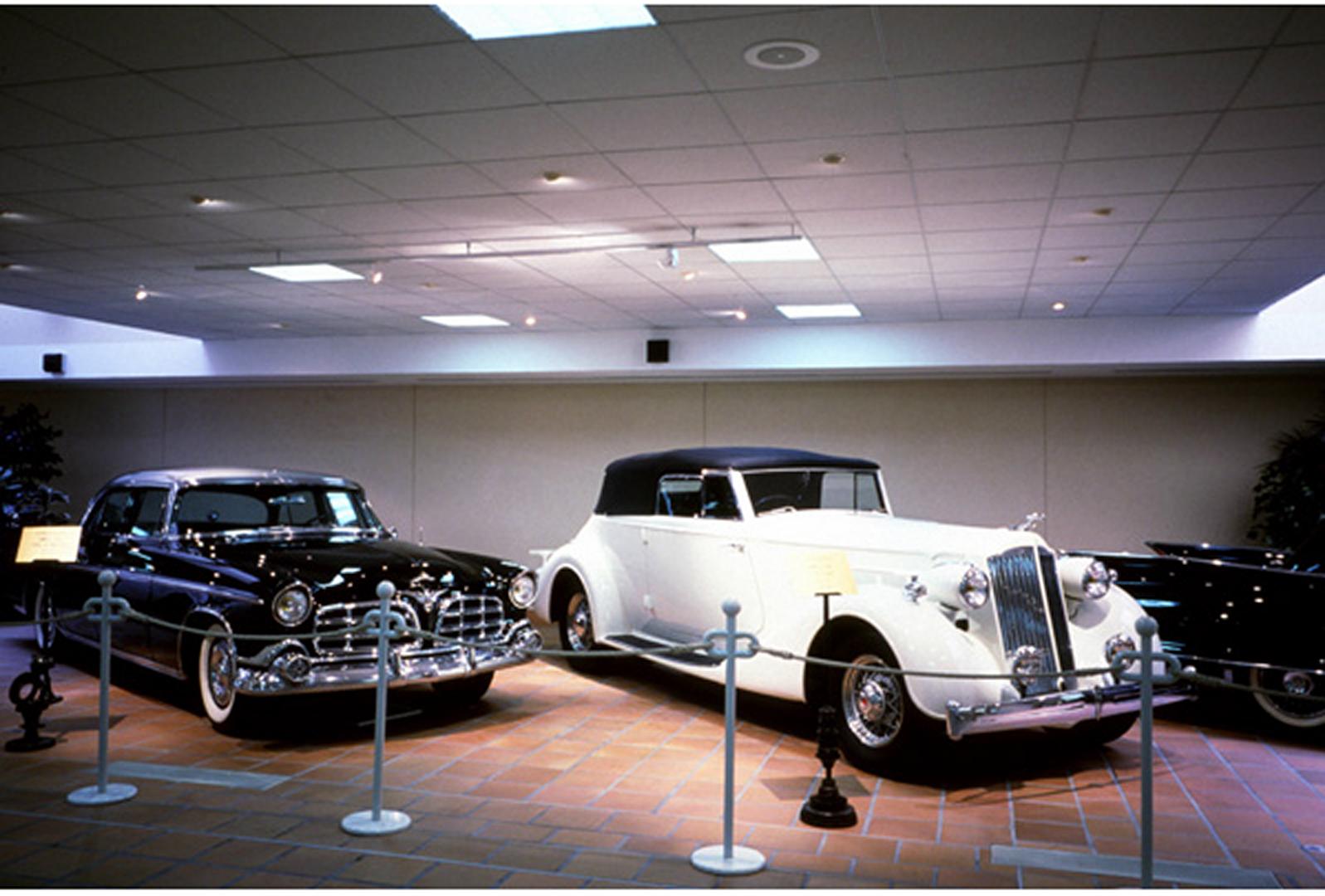 L'Exposition de la Collection de Voitures Anciennes de S.A.S. le Prince de Monaco