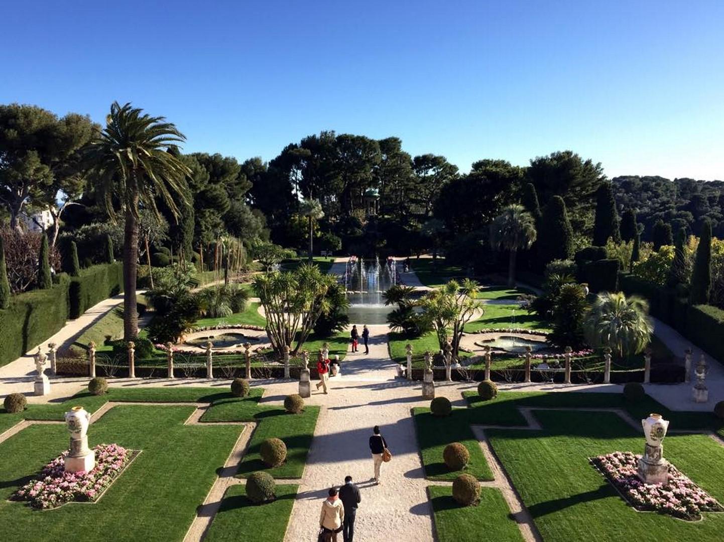 La villa Ephrussi de Rothschild (St Jean Cap Ferrat) 2