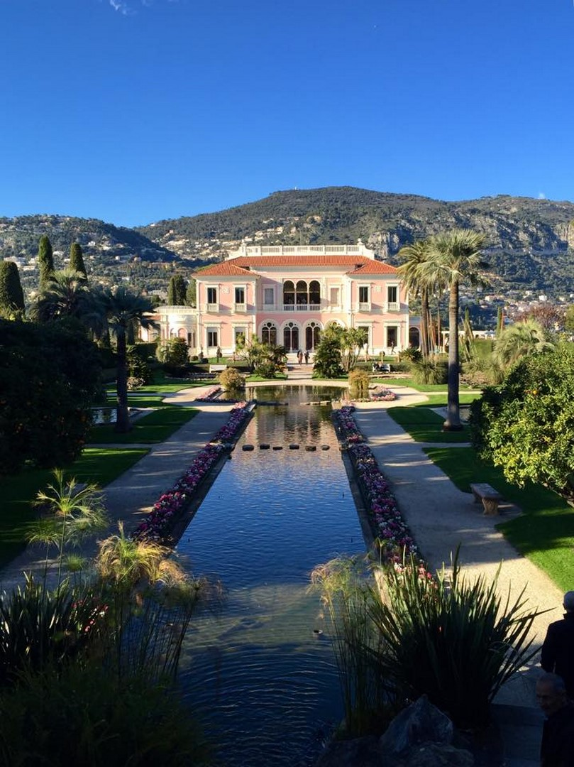 La villa Ephrussi de Rothschild (St Jean Cap Ferrat)