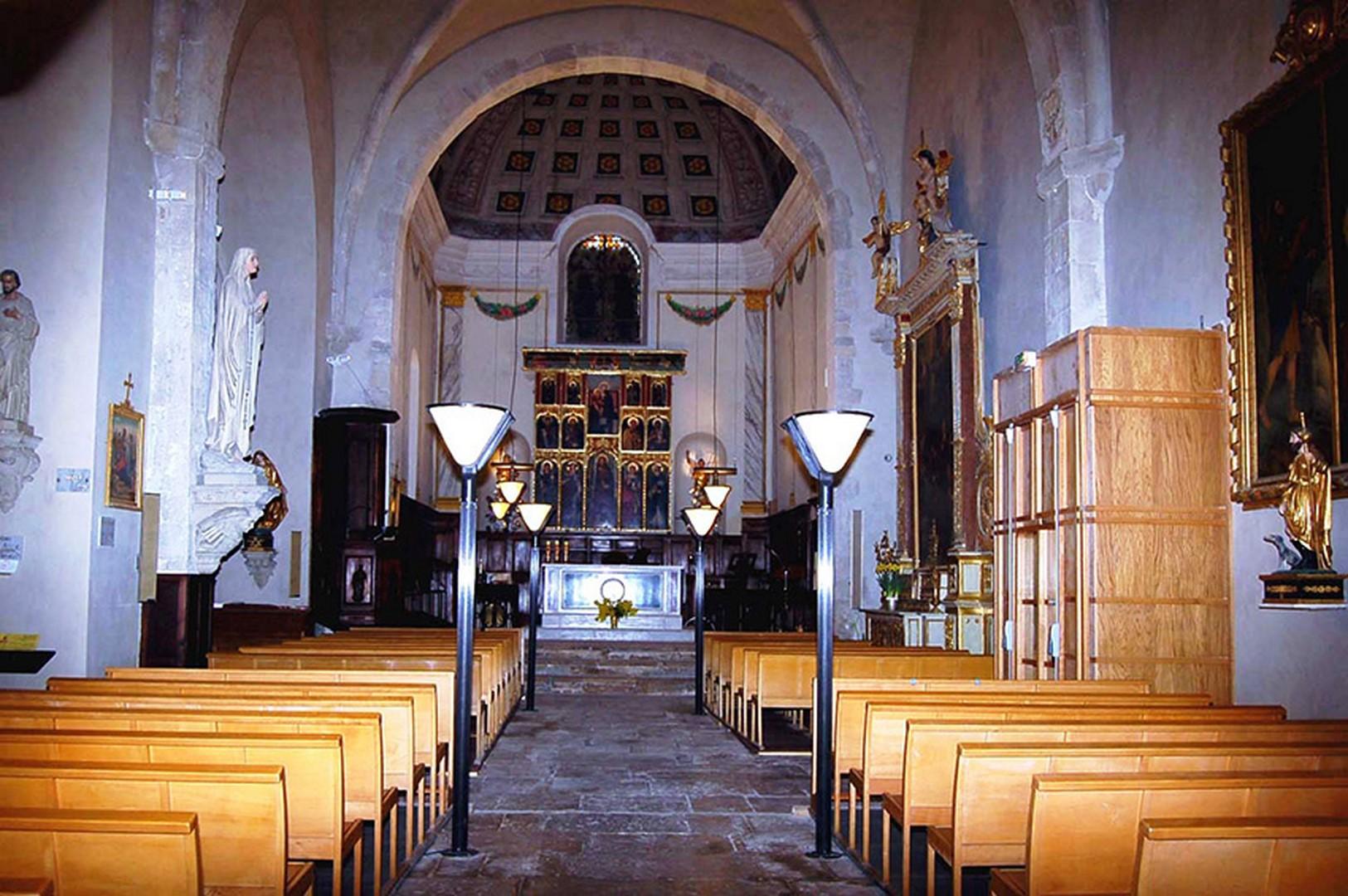 L'Eglise Saint Jacques le Majeur ( Bar sur Loup)