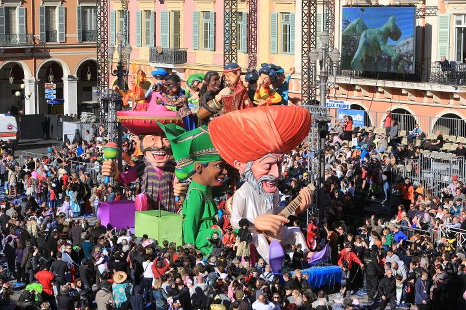 Le Carnaval de Nice 2015 - Le Roi de La Musique