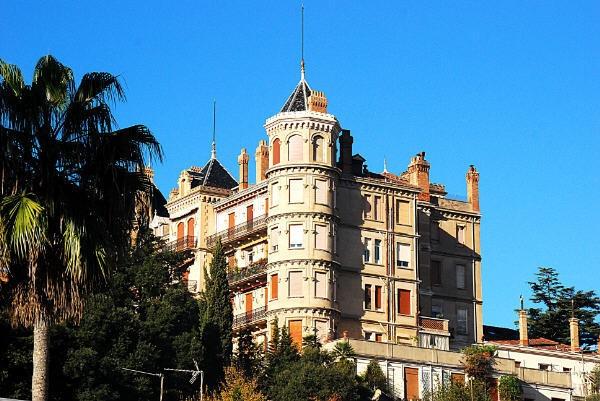 Le Château Vallombrosa et son parc à Cannes