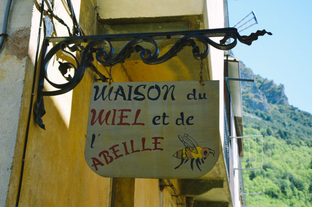 Maison du miel et de l'abeille tende