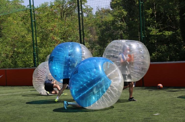Bubble-bump